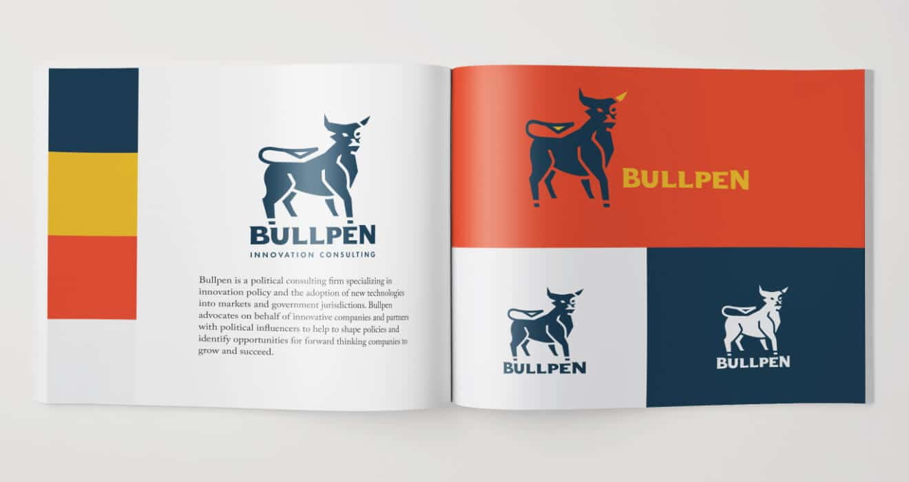 Bullpen Style Guide Design by Vinyl